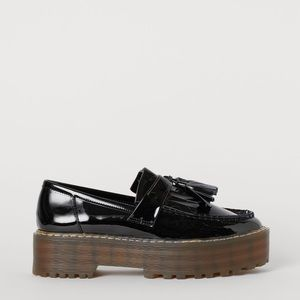 NWT Platform Loafers